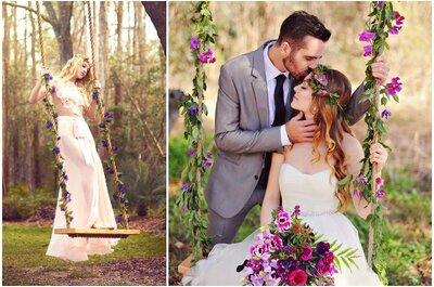 Die Schaukel als Hochzeits-Must have!