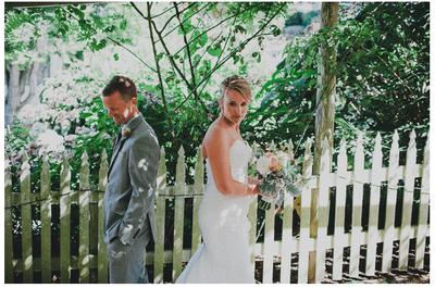 Real Wedding: Boda con inspiración náutica en colores marino y amarillo