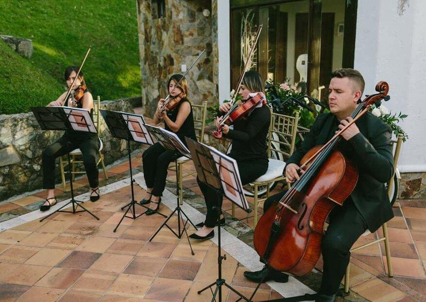 Para una boda exclusiva, Cuarteto Ámbar prepara un trabajo musical solemne, emotivo y vibrante
