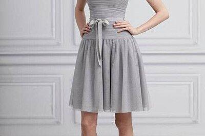 Vestidos para madrinhas de casamento Monique Lhuillier Coleção 2013