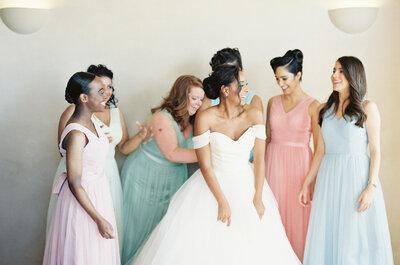 Los tonos pastel, estrellas de la decoración para bodas 2016