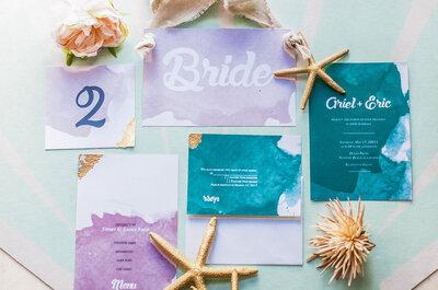 Im Farbenrausch: Auf diese Hochzeitsfarben 2016 freuen wir uns ganz besonders!