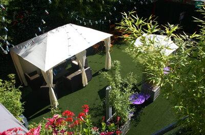 Le Cargo : une salle de réception dans un coin de verdure aux portes de Paris