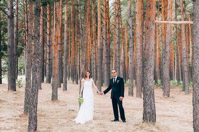 Romantisch und naturverbunden heiraten im Wald? Wir zeigen Ihnen wie das geht!
