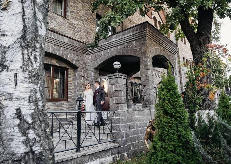Элегантная летняя свадьба Кирилла и Ольги в винном стиле