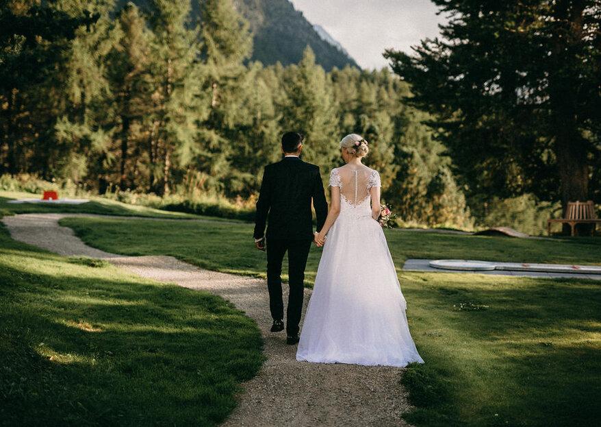 Eine naturverbundene Sommerhochzeit im Engadin – Heiraten in Pontresina