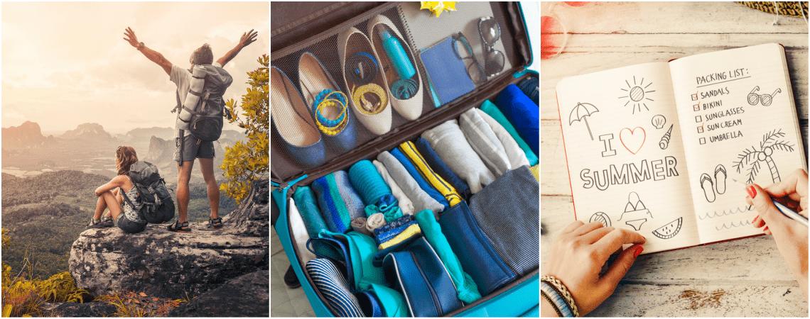 Die 10 wichtigsten Packtipps für Ihre Hochzeitsreise - so wird Packen leicht gemacht!