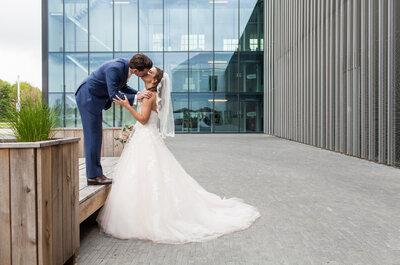 Romantische Real Wedding van Lydia en Peter