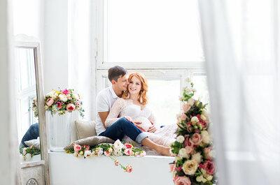 Невеста в положении: как организовать свою свадьбу, если ты беременна.