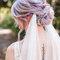 Peinados de novia con velo