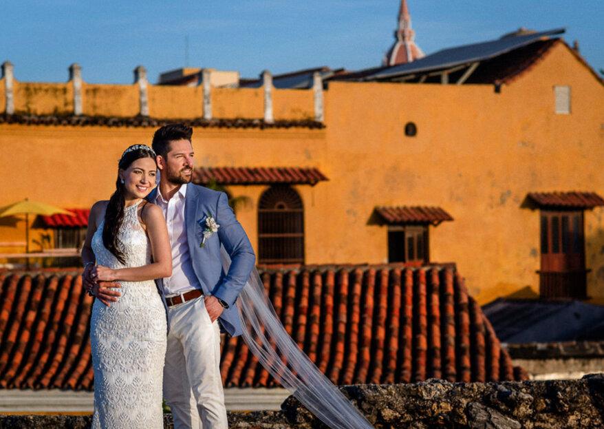La boda de Camilo y Andrea: ¡la importancia de regalarse buenos recuerdos!