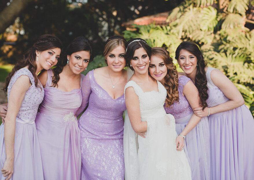 8 cosas que toda novia debe decirle a sus damas de boda antes del gran día