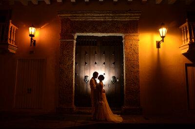 La mágica historia de Laura & Dennis: Una boda que traspasó la barrera de la edad