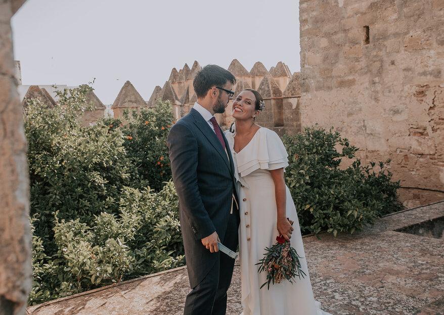 El sueño de una noche de verano: la boda de Sandra y Óscar