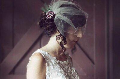Prochaines tendances 2014 pour des voiles de mariée précieux