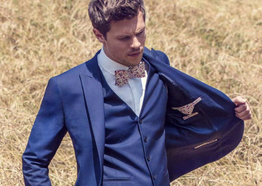 Choisissez votre costume en fonction du thème de votre mariage avec Jean de Sey