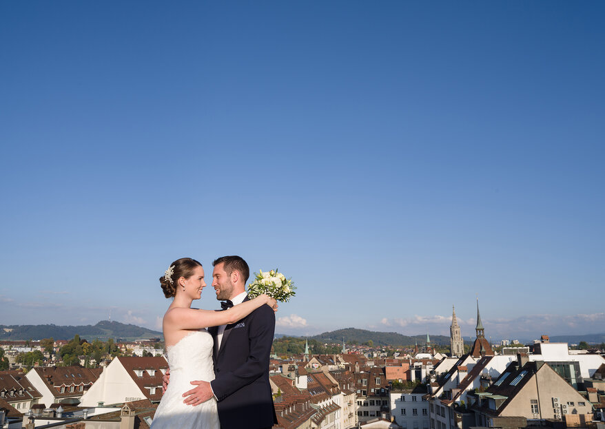 """""""Ja, ich will!"""" - Heiraten über den Dächern von Bern im Hotel Schweizerhof & Spa"""