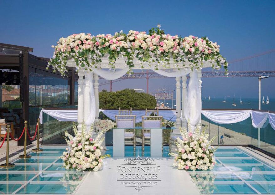 As fases do planeamento do casamento que dão aquele gostinho especial aos noivos