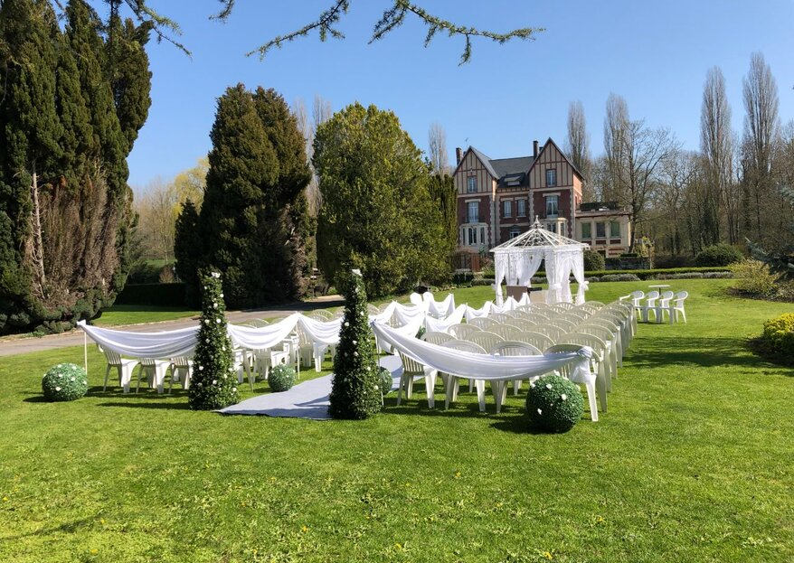 Le Château de Quesmy vous réserve tout un tas de belles surprises !
