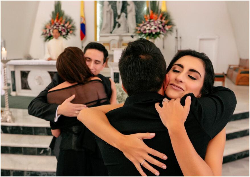 ¿Cómo elegir los padrinos de boda y qué papel desempeñan?