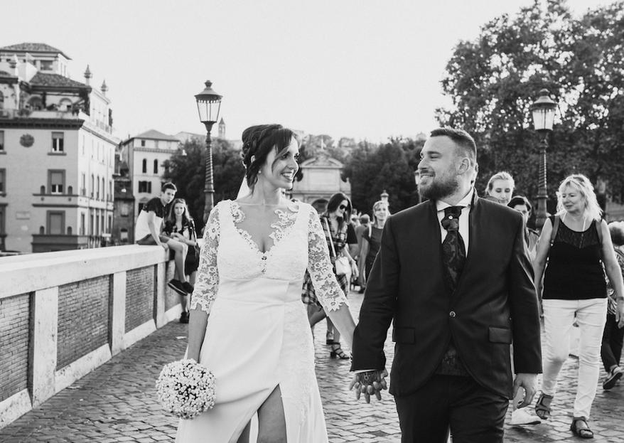 """""""Amore che torni"""": le nozze di Adriano e Sara"""