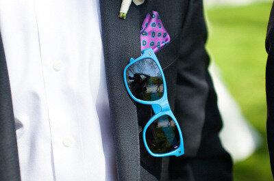 En tu boda... gafas de sol para todos