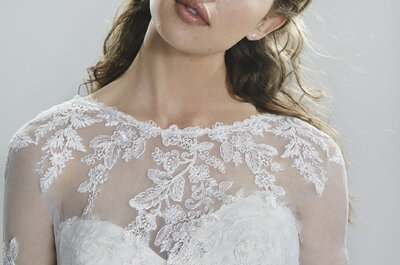 Lillian West Bridal Collection 2016: unique and romantic designs for the blushing bride