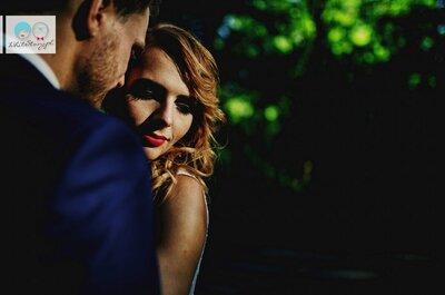 Reportaż ślubny pisany światłem i cieniem! Piękny!