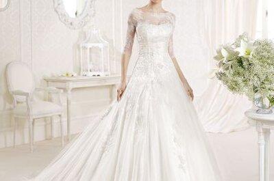 Vestidos de novia escote ilusión La Sposa 2014
