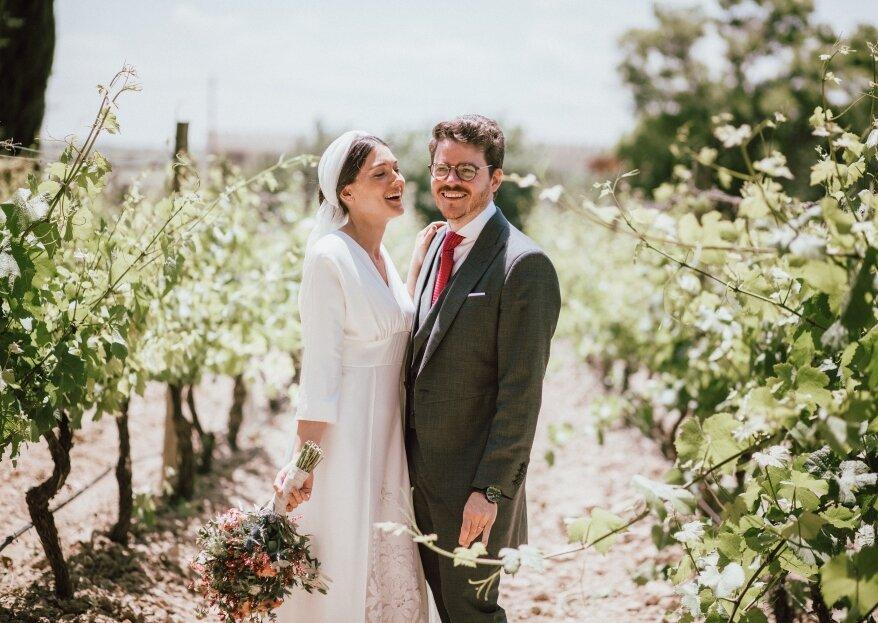 Como yo te amo...: la boda de Laura y Javier
