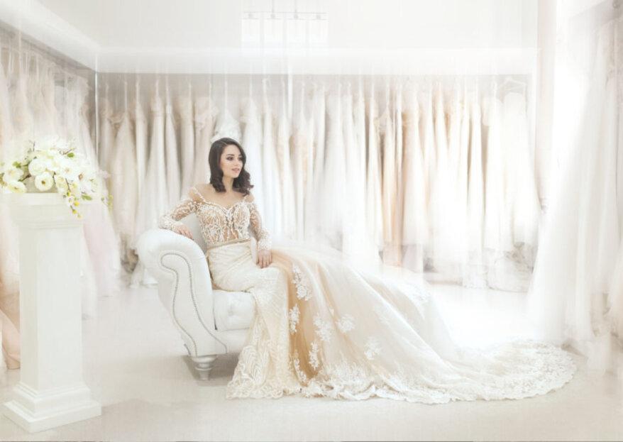 68f415762 Cómo elegir el escote del vestido de novia según la forma de tu rostro