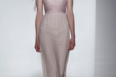 Envuélvete de emoción: Vestidos de novia 2014 con estilo romántico