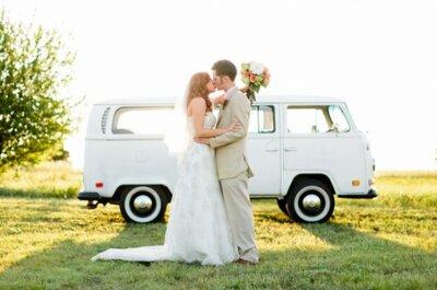 Ideas para decorar el coche de los recién casados