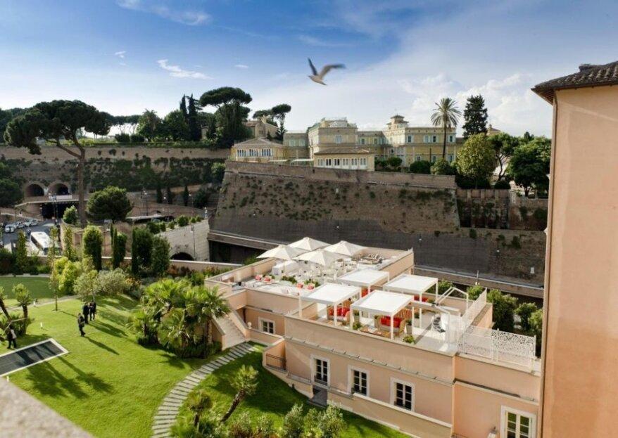 Il tuo matrimonio deluxe al Gran Melia Rome... a due passi dal Vaticano