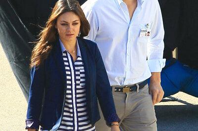 Ashton Kutcher y Mila Kunis se dan el