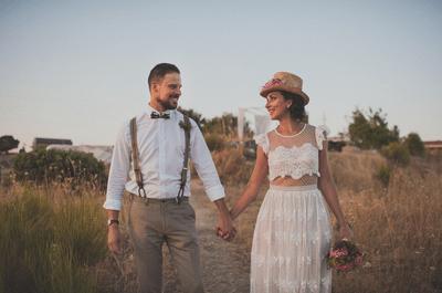 Un día único y mágico: la boda de Mar y Juanma