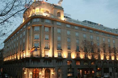Un hotel inimitable para una boda histórica en pleno corazón de Madrid