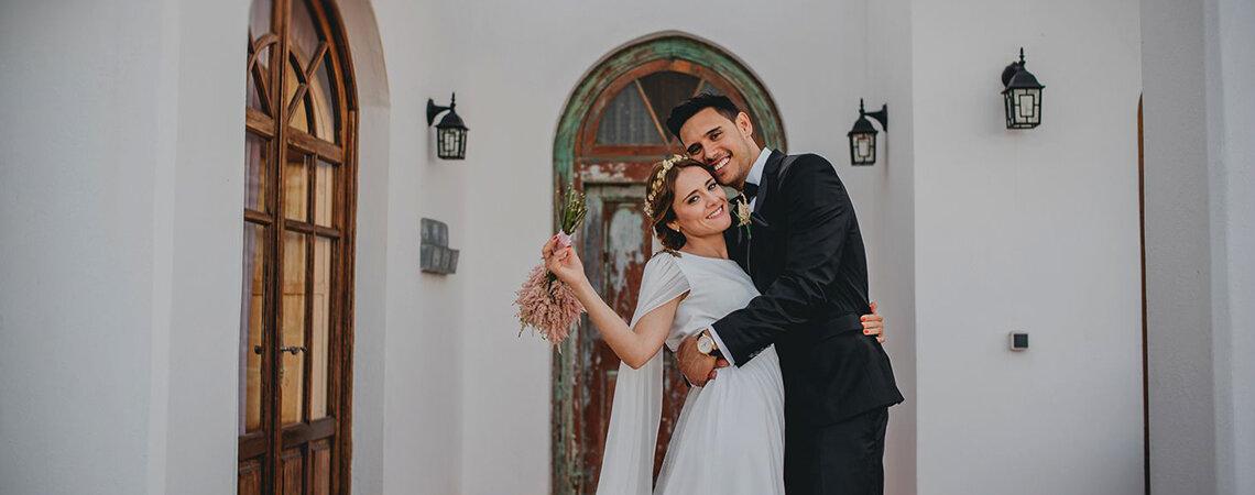 Un amor que empezó en una bonita amistad: el gran día de Laura e Iván
