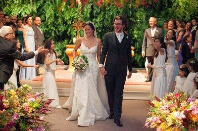 Amanda & Mário: festa de casamento cheia de detalhes personalizados em Ribeirão Preto
