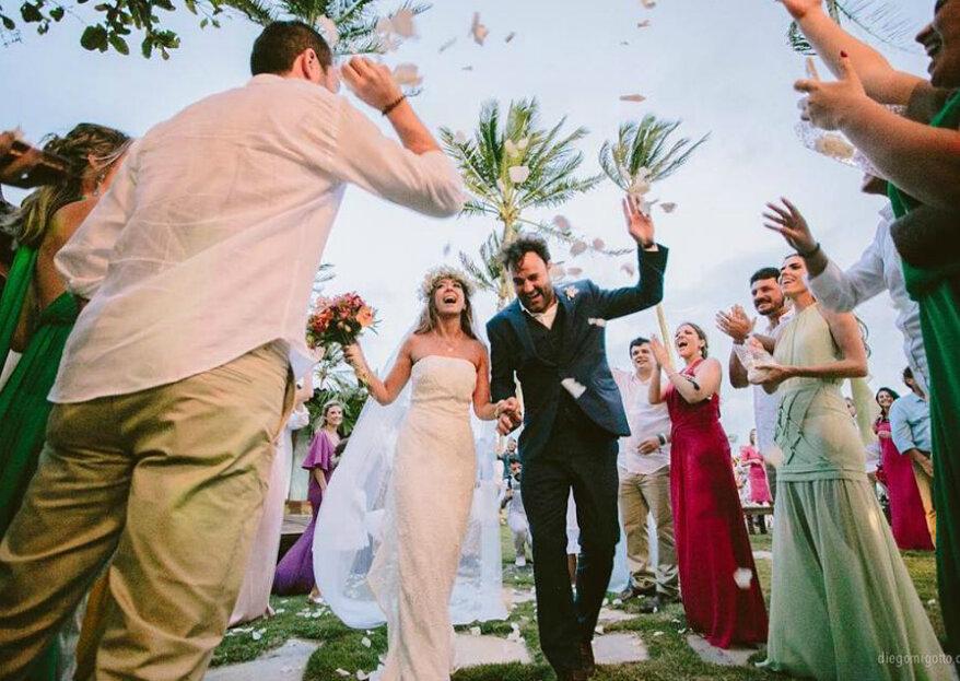 Patrícia Galvão Eventos e Cerimonial: tenha um destination wedding na praia tranquilo, seguro e inesquecível!