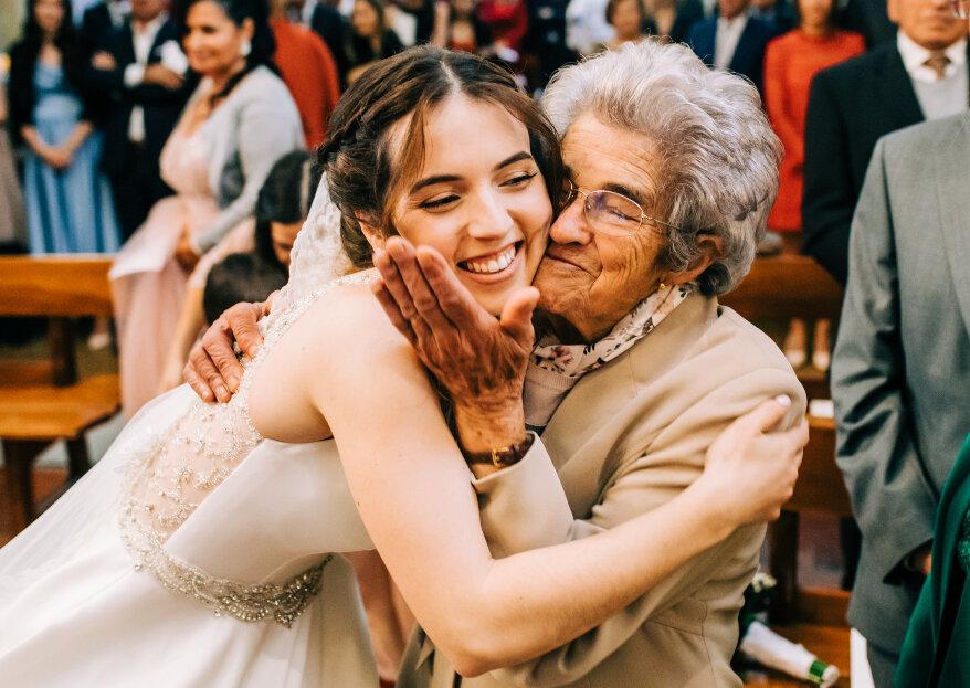 Dia dos Avós: 7 motivos pelos quais eles devem ter um papel de destaque no seu casamento!
