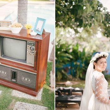 Eine Real Wedding mit DIY-Hochzeitsdekorationen
