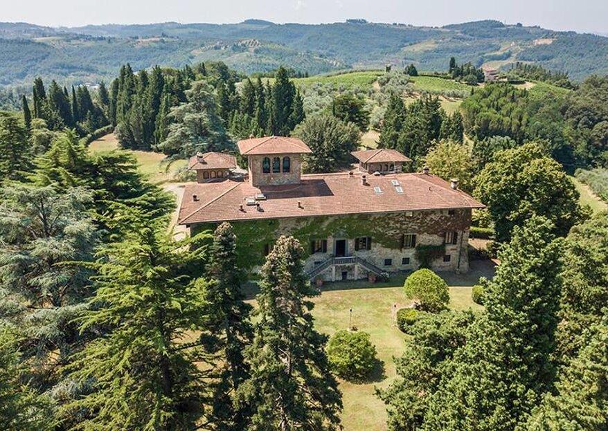 Villa di Piandaccoli: l'eleganza di una villa signorile per le tue nozze