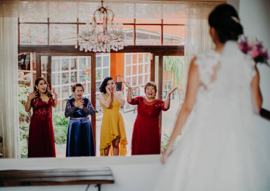 ¿Cómo evitar el estrés de la madre de la novia antes del matrimonio?