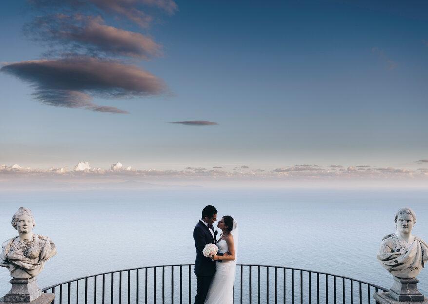 Io, te e la luna: le nozze a Ravello di Antonio e Sonia