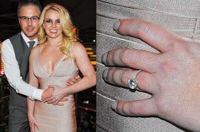 Britney Spears reçoit une bague de fiançailles de