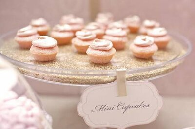 Delicious wedding cupcakes by Amy Atlas