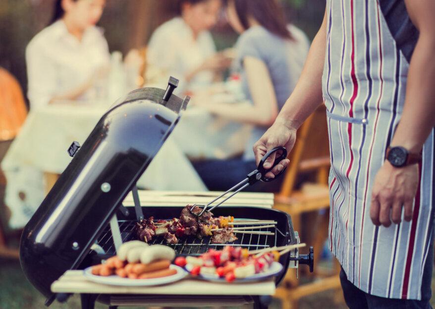 Barbecueën op de bruiloft: maak optimaal gebruik van het zonnetje!