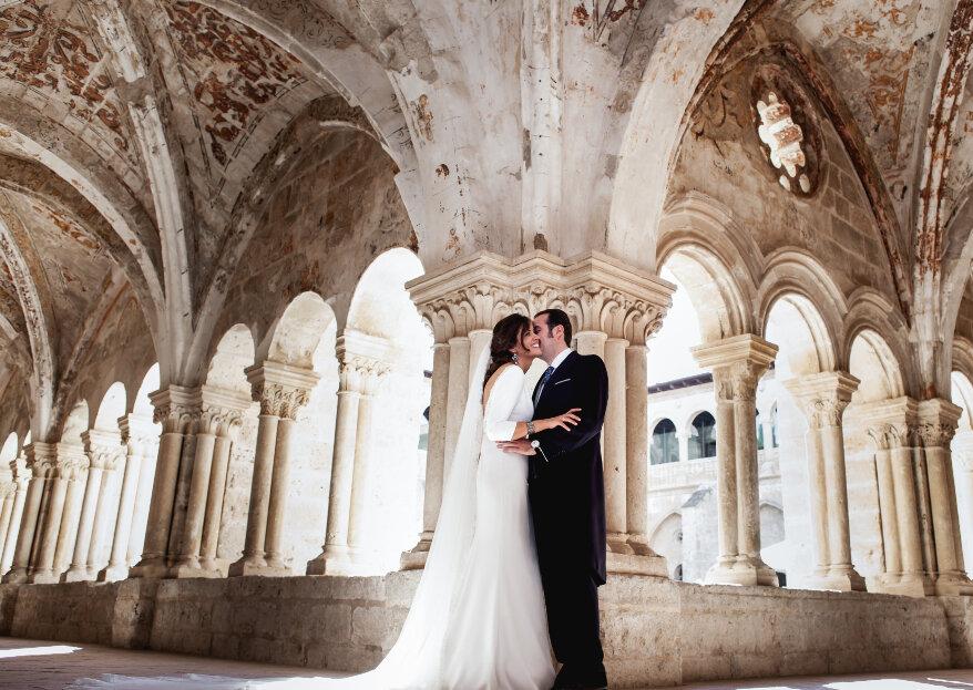 Castilla Termal Monasterio de Valbuena: todo el sabor español para tu boda en un monasterio del siglo XII