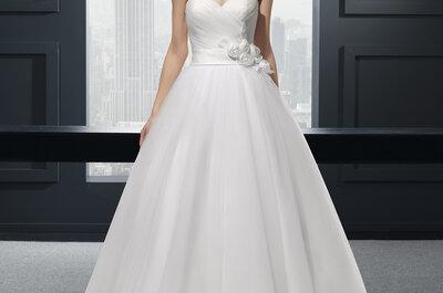Choisissez un look années 50 pour votre robe de mariée et accessoires